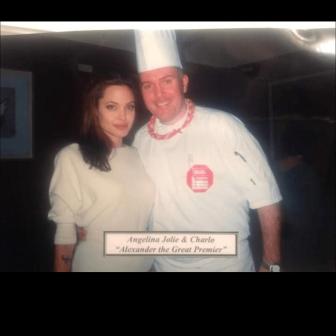Angelina Jolie & Charlo @ Alexander the Great Premier
